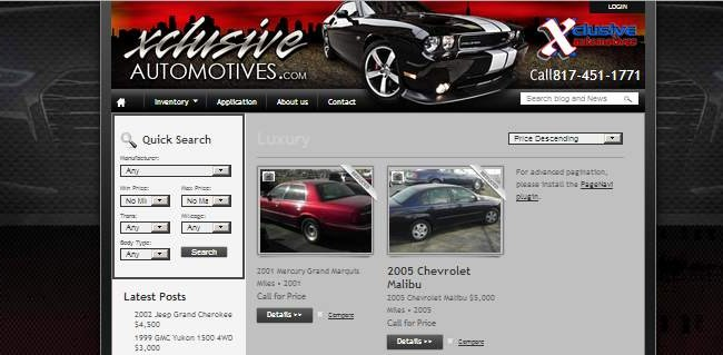 XclusiveAutomotive.com